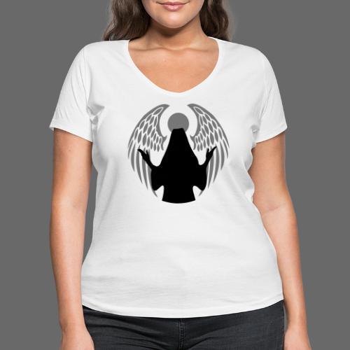 Gefallener Engel - Frauen Bio-T-Shirt mit V-Ausschnitt von Stanley & Stella