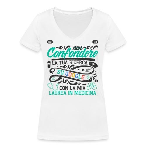 Regalo Per Laurea Medicina | Regalo Dottore - T-shirt ecologica da donna con scollo a V di Stanley & Stella