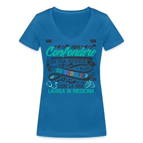 Regalo Per Laurea Medicina   Regalo Dottore - T-shirt ecologica da donna con scollo a V di Stanley & Stella