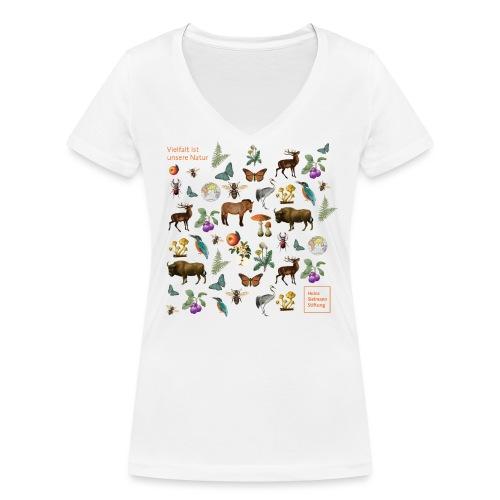 Sielmann - Frauen Bio-T-Shirt mit V-Ausschnitt von Stanley & Stella