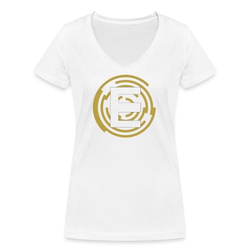 E-Campionato Semplice - T-shirt ecologica da donna con scollo a V di Stanley & Stella