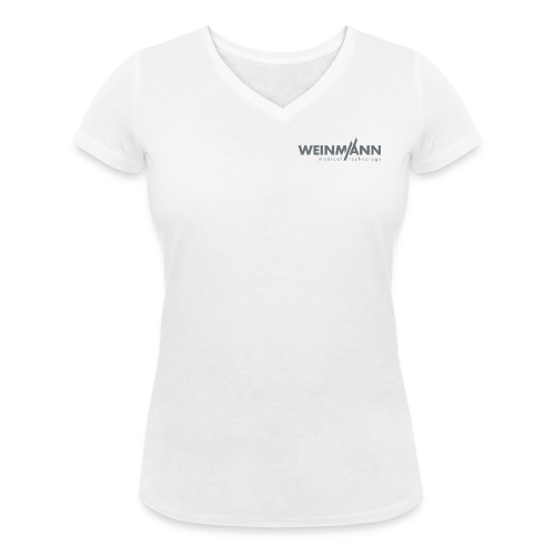 Weinmann Emergeny Logo - Frauen Bio-T-Shirt mit V-Ausschnitt von Stanley & Stella