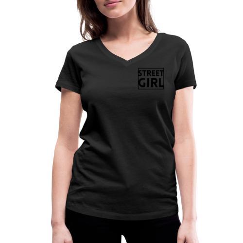 girl - T-shirt bio col V Stanley & Stella Femme