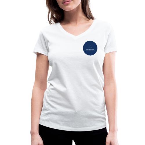 Triforce blend (blue) - Frauen Bio-T-Shirt mit V-Ausschnitt von Stanley & Stella