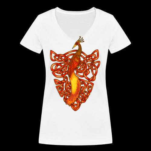 Phoenix - Women's Organic V-Neck T-Shirt by Stanley & Stella