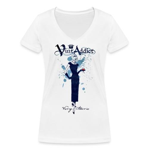 Vintaddict Drink Woman - T-shirt bio col V Stanley & Stella Femme