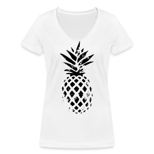 ananas - T-shirt bio col V Stanley & Stella Femme