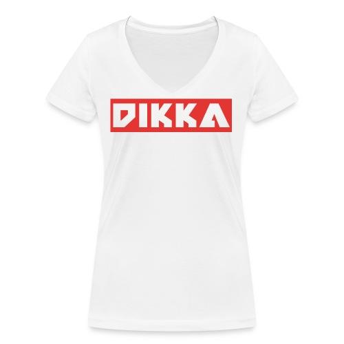 DIKKA DESIGN STANDART jpg - Frauen Bio-T-Shirt mit V-Ausschnitt von Stanley & Stella