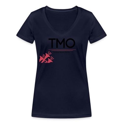 TMO Logo - Women's Organic V-Neck T-Shirt by Stanley & Stella