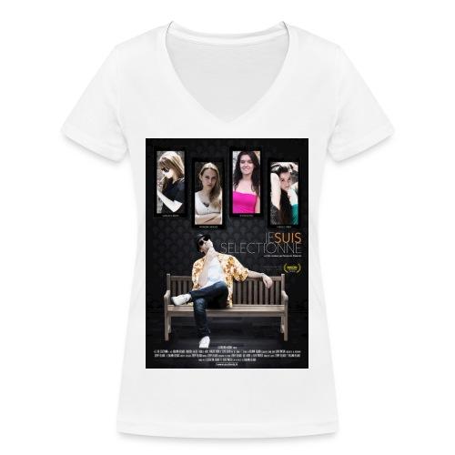 Affiche_Je suis sélec - T-shirt bio col V Stanley & Stella Femme