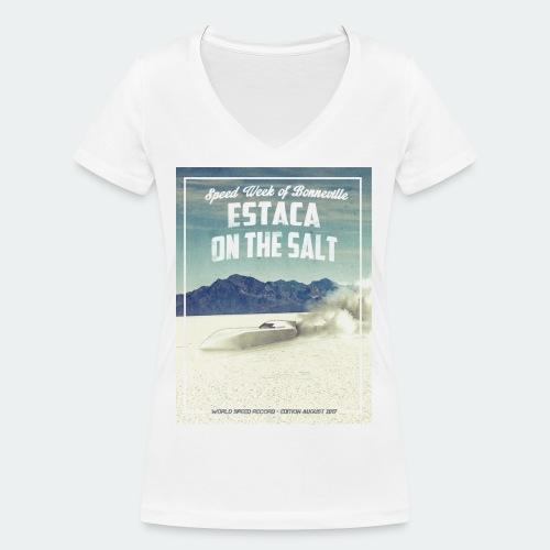 portrait - T-shirt bio col V Stanley & Stella Femme