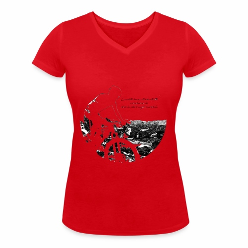La vita incredula - T-shirt ecologica da donna con scollo a V di Stanley & Stella