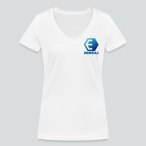 ennoaj - Vrouwen bio T-shirt met V-hals van Stanley & Stella