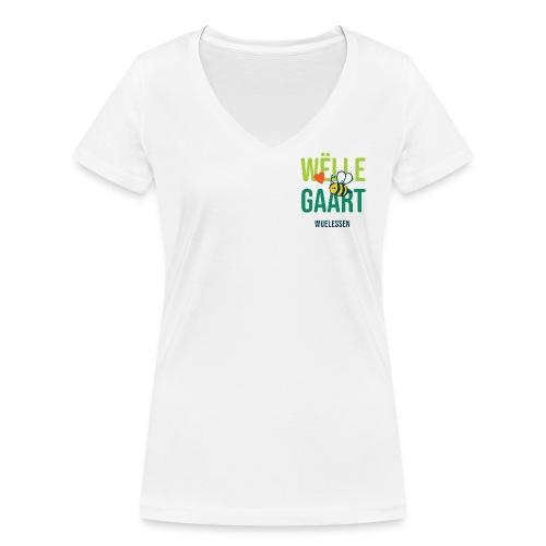 De Wëlle Gaart - Frauen Bio-T-Shirt mit V-Ausschnitt von Stanley & Stella
