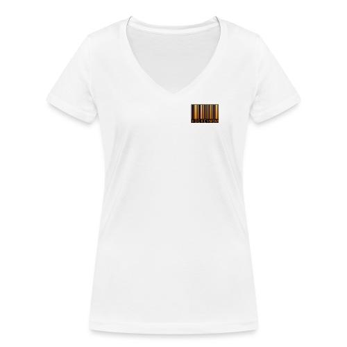 Hockeymomlogbarcodelargenose jpg - Ekologisk T-shirt med V-ringning dam från Stanley & Stella