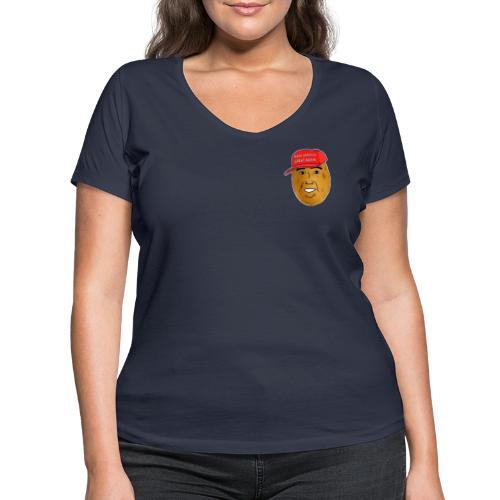 Potato - T-shirt bio col V Stanley & Stella Femme