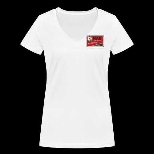 tshirt - Camiseta ecológica mujer con cuello de pico de Stanley & Stella