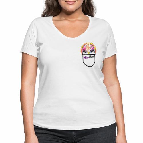 Nina Nice Pocket - Frauen Bio-T-Shirt mit V-Ausschnitt von Stanley & Stella