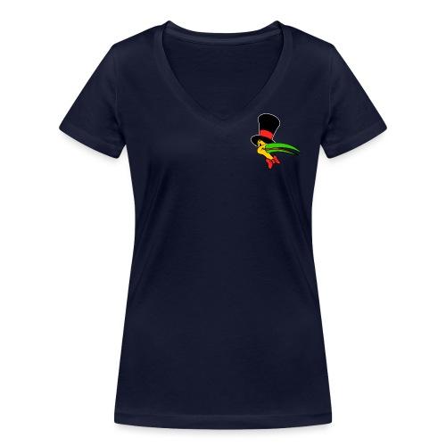 Alter ego (Radio Show) - Camiseta ecológica mujer con cuello de pico de Stanley & Stella