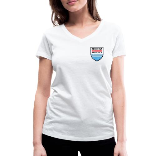 ROAT Emblem - Økologisk Stanley & Stella T-shirt med V-udskæring til damer