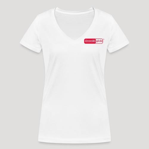 Smoothglide_Strong_Power_ - Frauen Bio-T-Shirt mit V-Ausschnitt von Stanley & Stella