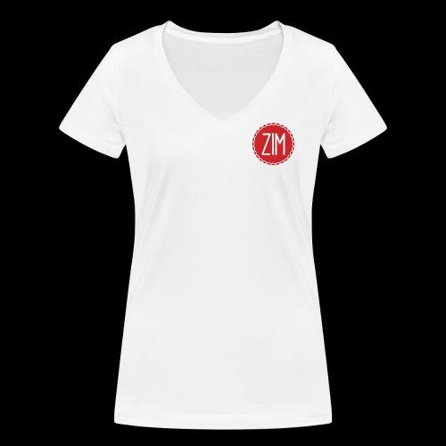 Logo grand png - T-shirt bio col V Stanley & Stella Femme