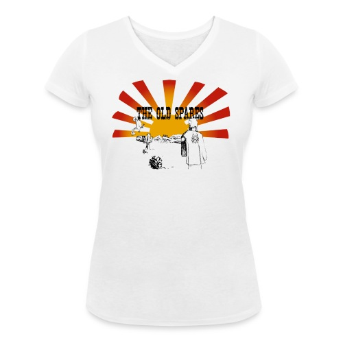 PickTshirt - Ekologisk T-shirt med V-ringning dam från Stanley & Stella