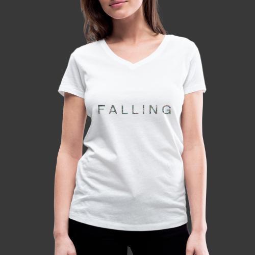 F A L L I N G - T-shirt bio col V Stanley & Stella Femme