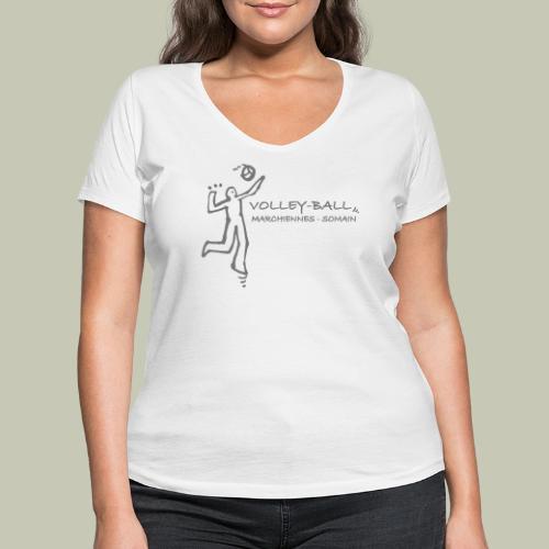 Graphique Smatch - T-shirt bio col V Stanley & Stella Femme