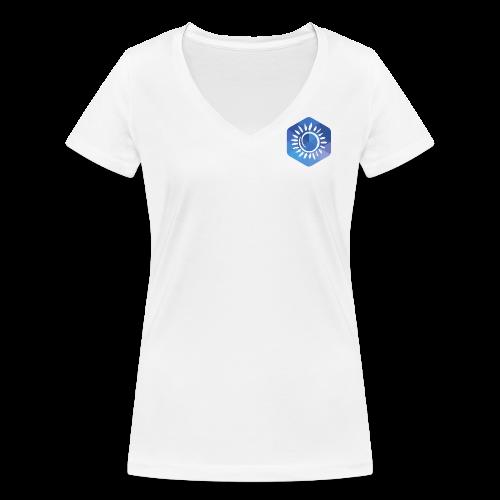 AFUP Aix-Marseille - T-shirt bio col V Stanley & Stella Femme