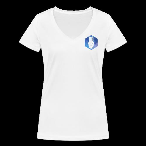 AFUP Poitiers - T-shirt bio col V Stanley & Stella Femme