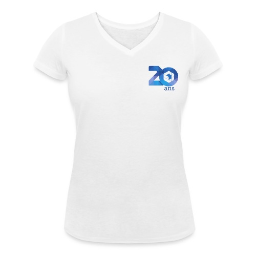 20 ans de l'AFUP - par Laury S. - T-shirt bio col V Stanley & Stella Femme