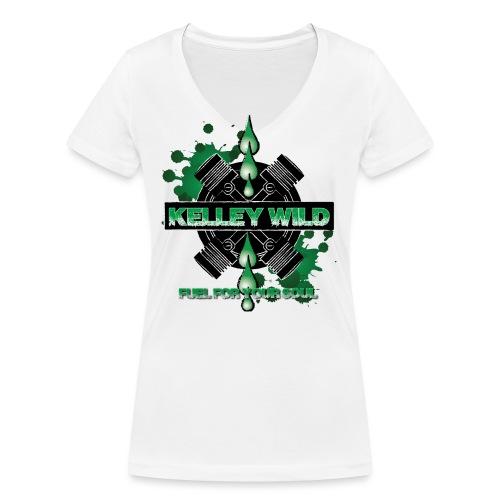 Fuel - Frauen Bio-T-Shirt mit V-Ausschnitt von Stanley & Stella