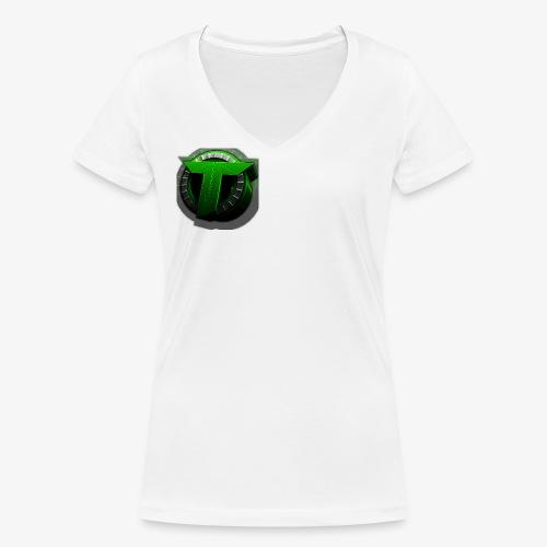 TEDS MERCHENDISE - Økologisk T-skjorte med V-hals for kvinner fra Stanley & Stella