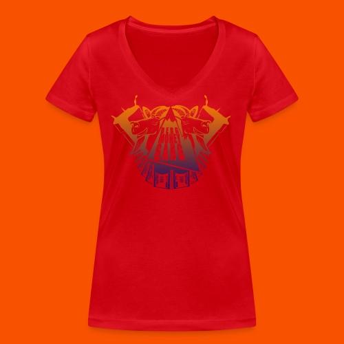 regegegregre png - Frauen Bio-T-Shirt mit V-Ausschnitt von Stanley & Stella