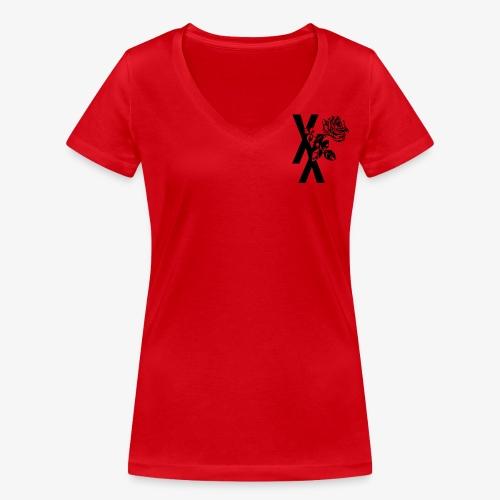 EST19XX ROSE - Vrouwen bio T-shirt met V-hals van Stanley & Stella
