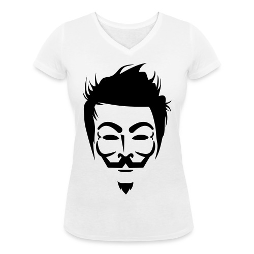 Anonymous Hipster - T-shirt bio col V Stanley & Stella Femme