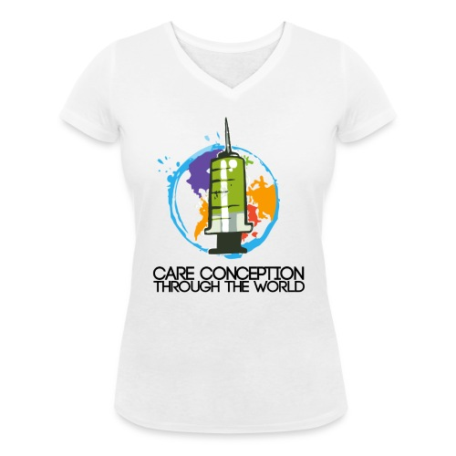 LogoGrand2 png - T-shirt bio col V Stanley & Stella Femme