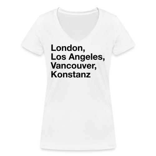 Konstanz Notstand - Frauen Bio-T-Shirt mit V-Ausschnitt von Stanley & Stella