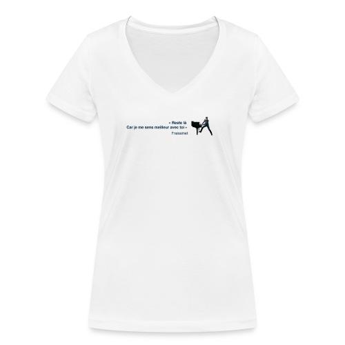 00 QVLJ22 png - T-shirt bio col V Stanley & Stella Femme