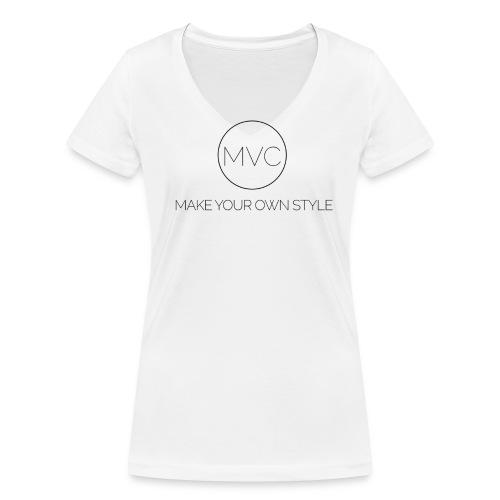 Text O Matic 2016 4 27 19 35 47 High 2 png - Vrouwen bio T-shirt met V-hals van Stanley & Stella
