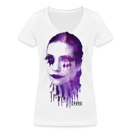 Ace of spades - Nova - Women's Organic V-Neck T-Shirt by Stanley & Stella