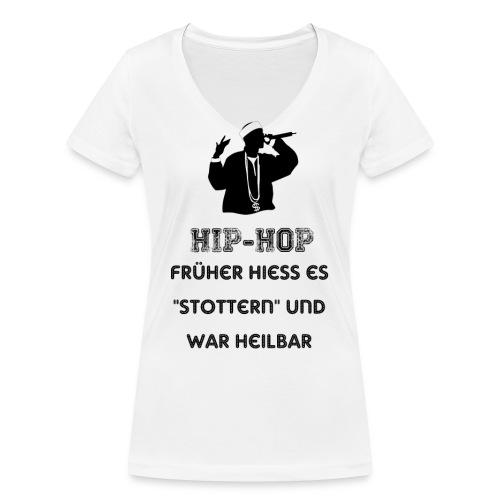 Stop Hip Hop - Frauen Bio-T-Shirt mit V-Ausschnitt von Stanley & Stella
