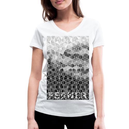 Nebel, [der] - Frauen Bio-T-Shirt mit V-Ausschnitt von Stanley & Stella