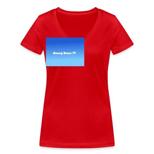Honey Bears TV Merch - Women's Organic V-Neck T-Shirt by Stanley & Stella