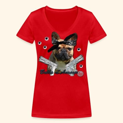 Bullpac - T-shirt bio col V Stanley & Stella Femme