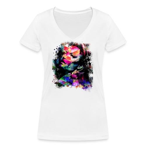 KOLORS - T-shirt bio col V Stanley & Stella Femme