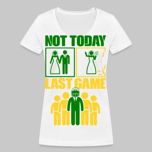 2reborn JGA Groom Wedding Hochzeit Braeutigam Part - Frauen Bio-T-Shirt mit V-Ausschnitt von Stanley & Stella