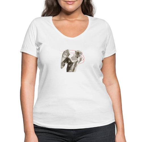 Angelo custode 2 - T-shirt ecologica da donna con scollo a V di Stanley & Stella