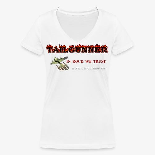 BANNER - Frauen Bio-T-Shirt mit V-Ausschnitt von Stanley & Stella